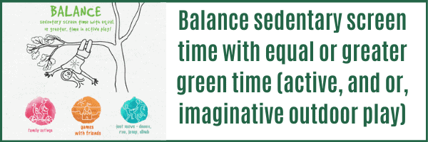 Resources to Balance Screen Time