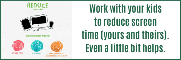 Resources to Reduce Screen Time