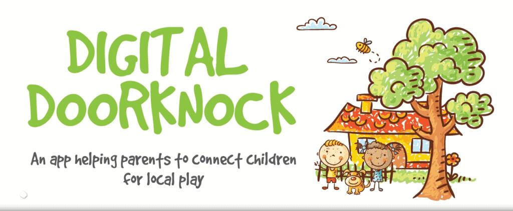 digital doorknock banner